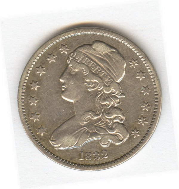 1412: 1832 U.S. QUARTER