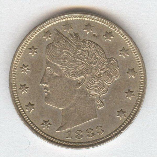 1421: 1883 U.S. LIBERTY V NICKEL