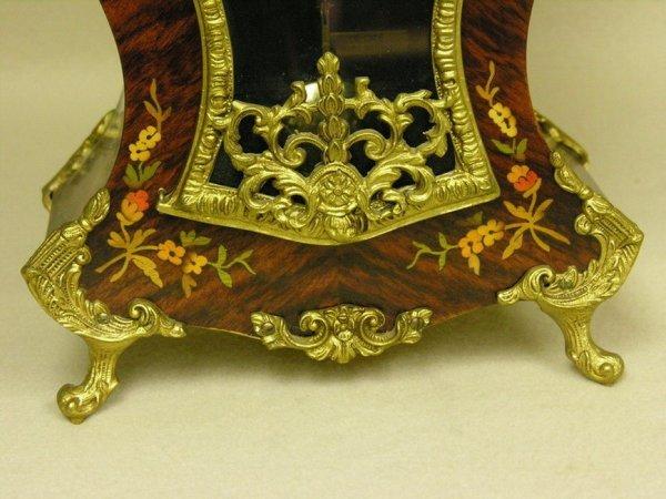1575: LE ORE ITALY INLAID CLOCK - 4