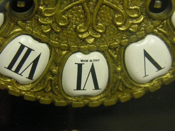 1575: LE ORE ITALY INLAID CLOCK - 5