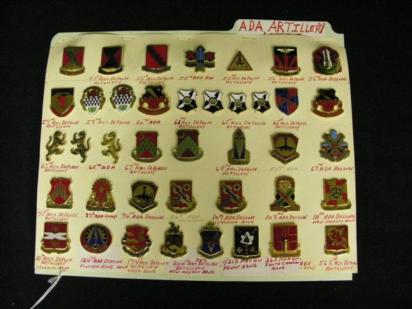 353: U.S MILITARY INSIGNIA COLLAR PINS