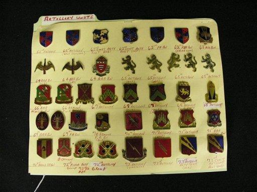 354: U S MILITARY INSIGNIA COLLAR PINS