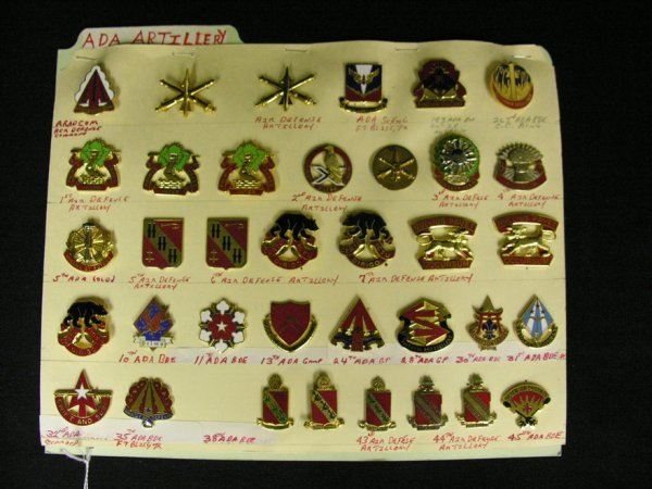 355: U.S MILITARY INSIGNIA COLLAR PINS