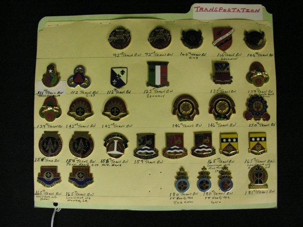 362: U.S MILITARY INSIGNIA CRESTS  PINS