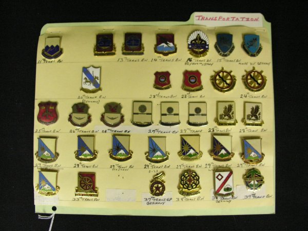 364: U.S MILITARY INSIGNIA COLLAR PINS