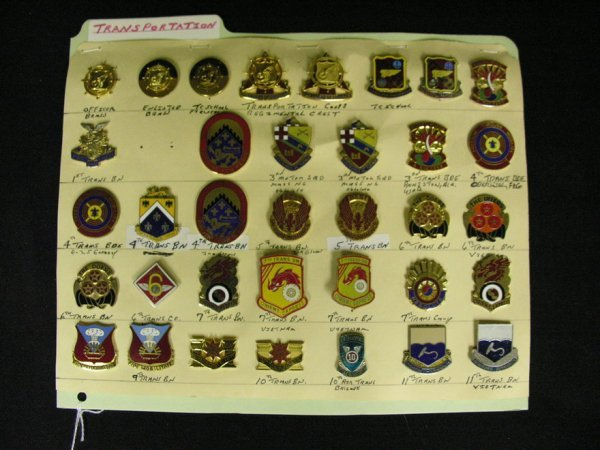 365: U.S MILITARY INSIGNIA COLLAR PINS