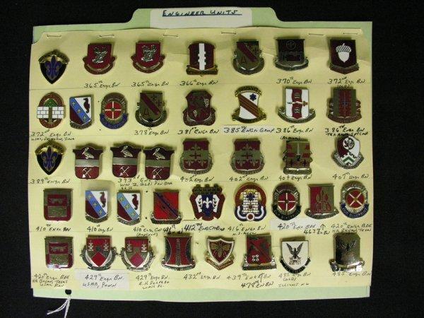 368: U.S MILITARY INSIGNIA COLLAR PINS
