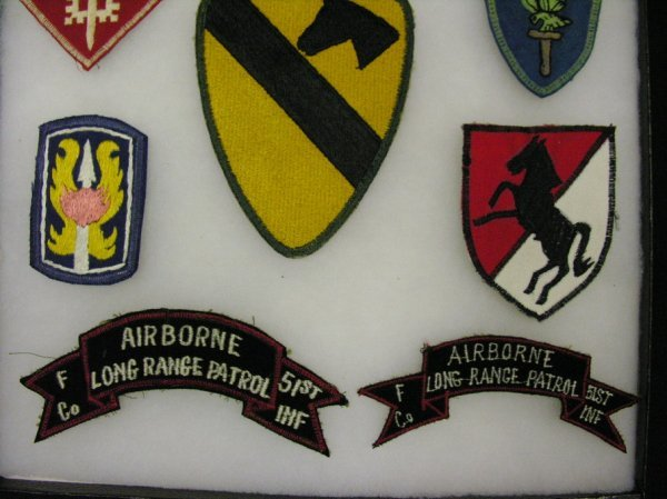 569: US MILITARY ARMY INSIGNIA PATCHES VIETNAM ERA - 2