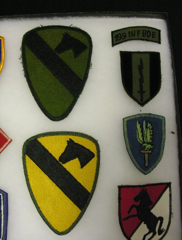 569: US MILITARY ARMY INSIGNIA PATCHES VIETNAM ERA - 3