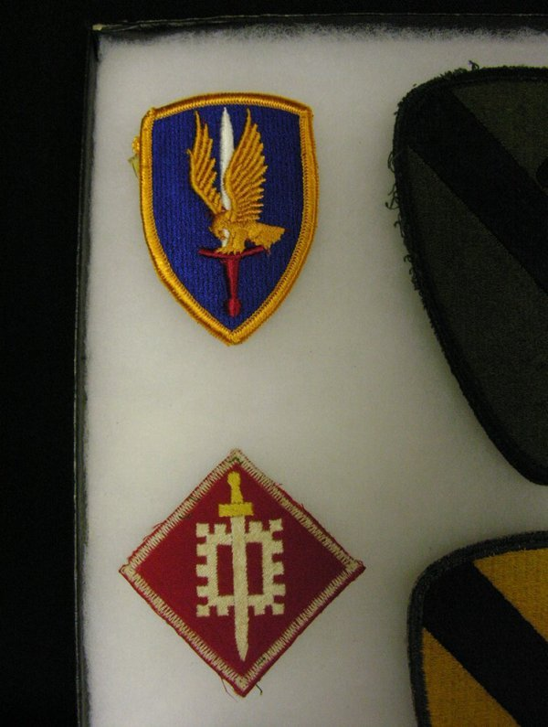 569: US MILITARY ARMY INSIGNIA PATCHES VIETNAM ERA - 4