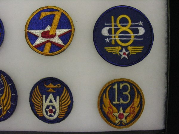 599: WWII US ARMY AIR FORCE INSIGNIA PATCHES - 2