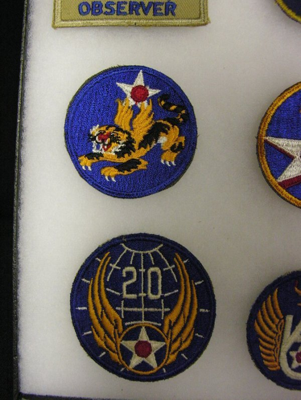 599: WWII US ARMY AIR FORCE INSIGNIA PATCHES - 3