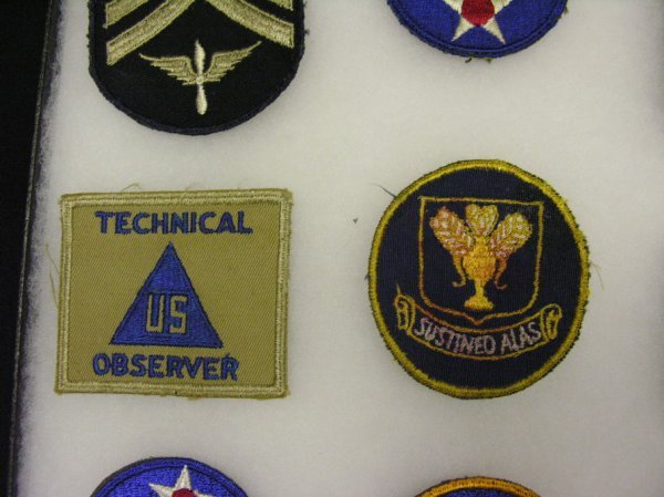 599: WWII US ARMY AIR FORCE INSIGNIA PATCHES - 4