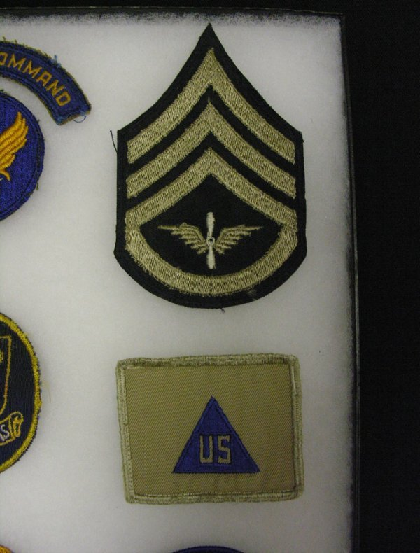 599: WWII US ARMY AIR FORCE INSIGNIA PATCHES - 6