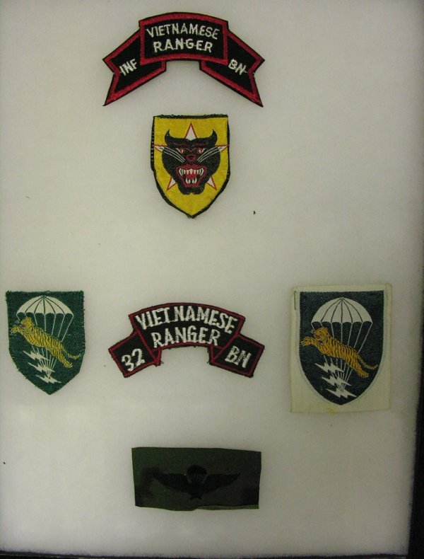 675:VIETNAM ARVN  INSIGNIA ARM PATCHES