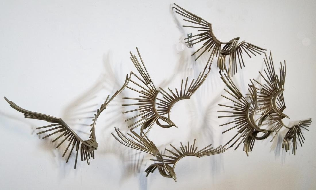 SIGNED JERE HANGING WALL SCULPTURE C. 1977 - 2