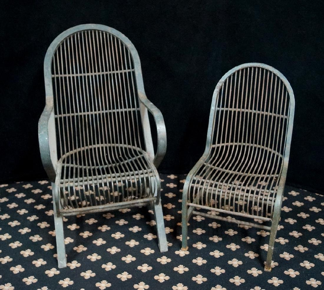 PR. IRON CHAIRS 1 ARM & 1 SIDE