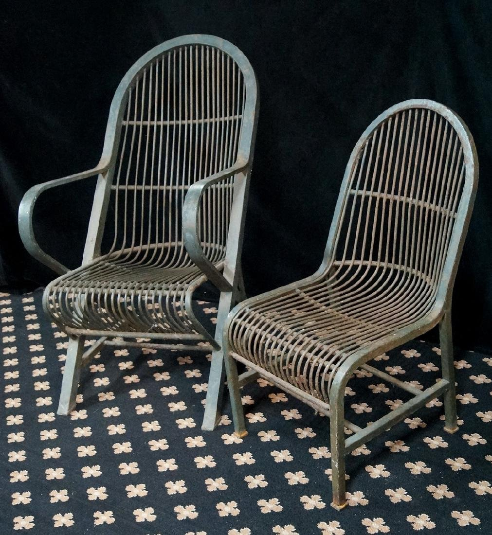 PR. IRON CHAIRS 1 ARM & 1 SIDE - 2