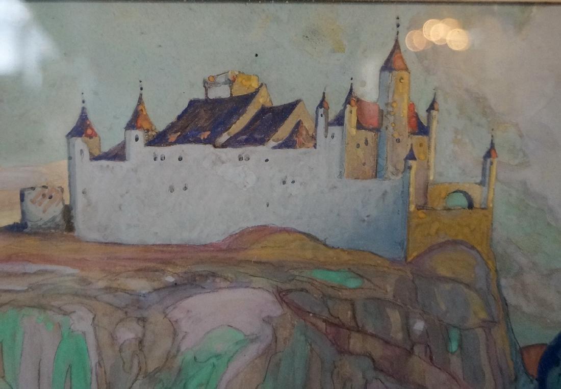 SIDNEY WIGGINS SGN. WORK ON ARTISTS BOARD - 3
