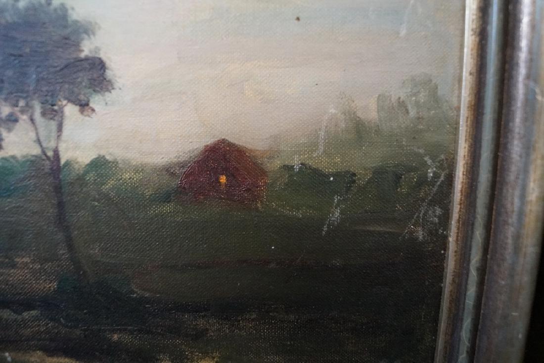 M.A. JAFFE (?) SGN. OIL ON ARTISTS BOARD - 3