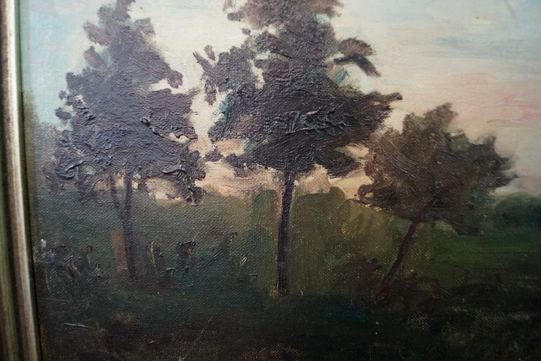 M.A. JAFFE (?) SGN. OIL ON ARTISTS BOARD - 5