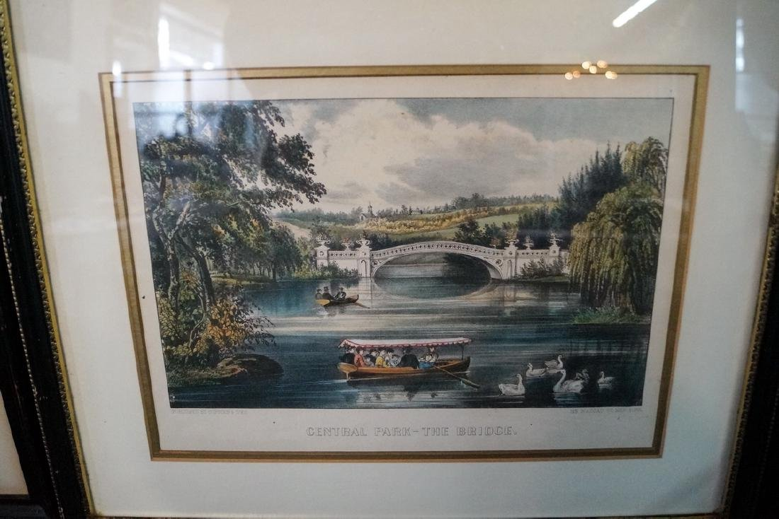 3 CURRIER & IVES PRINTS NEW YORK SUBJECTS - 4