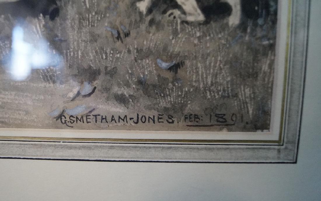 G. W. SMETHAM JONES ILLUSTRATOR GOUACHE - 2
