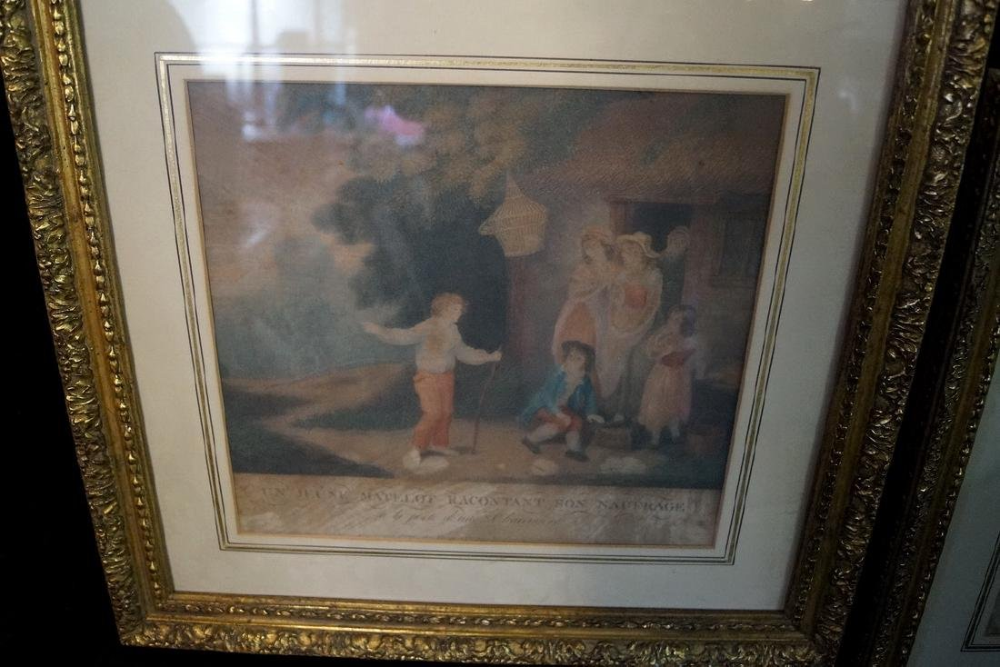 """GROUP OF 3 FRENCH PRINTS, INC. """"LE BERGER COMPLAISANT"""" - 2"""