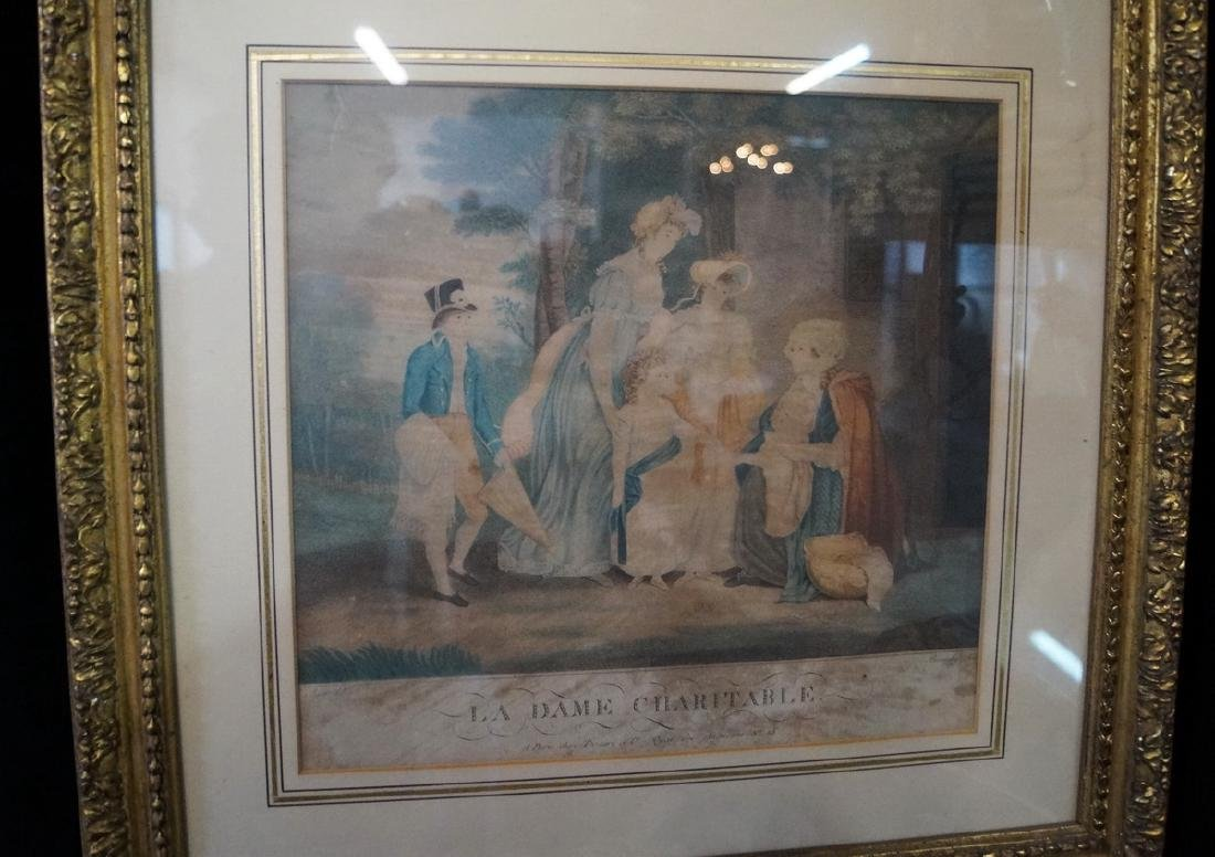 """GROUP OF 3 FRENCH PRINTS, INC. """"LE BERGER COMPLAISANT"""" - 4"""