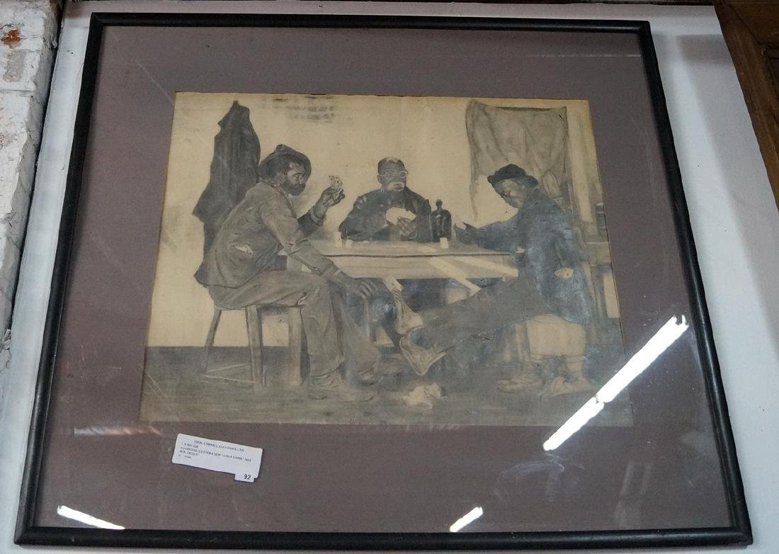 """GROUP OF 3 FRENCH PRINTS, INC. """"LE BERGER COMPLAISANT"""" - 5"""