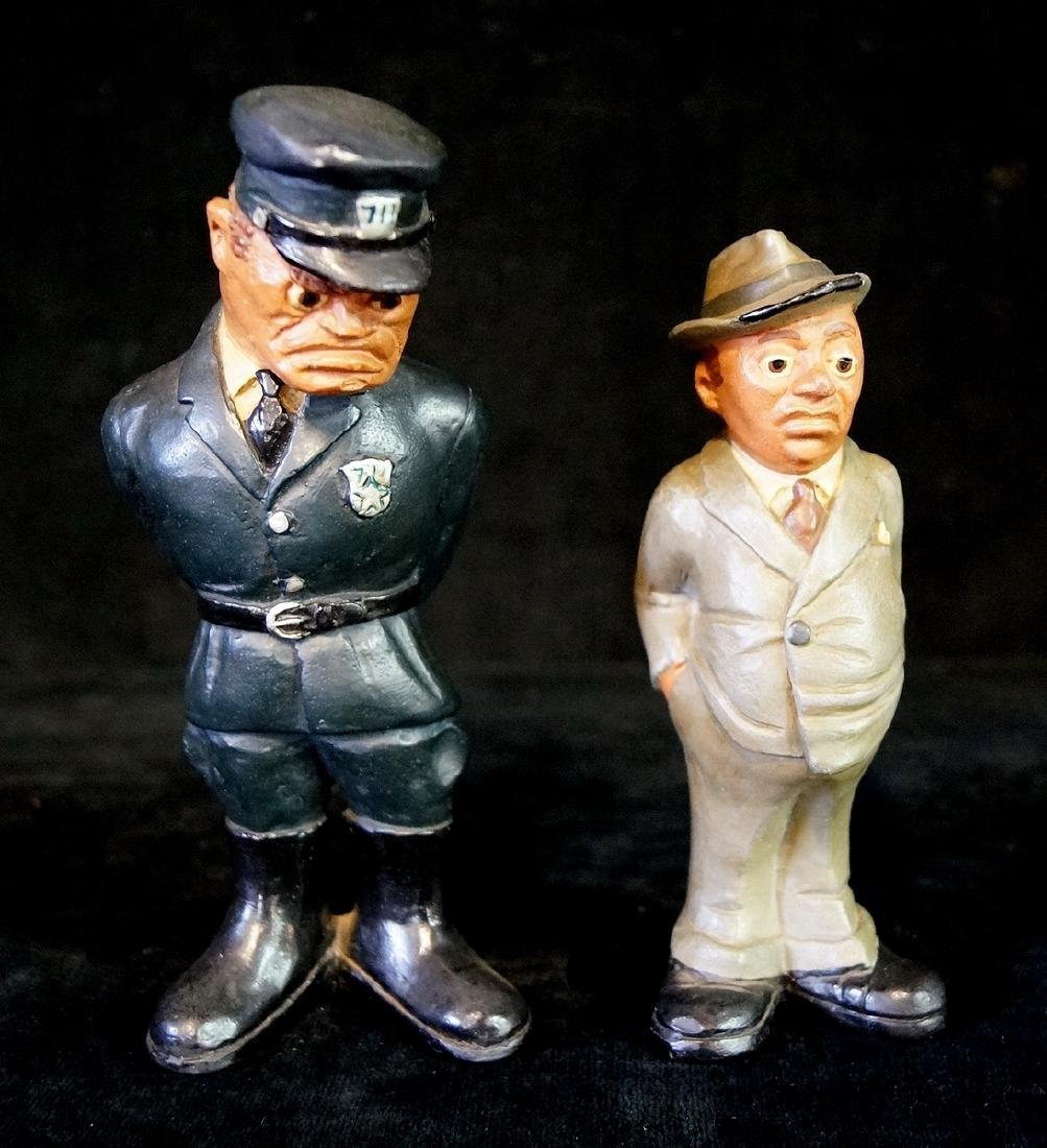 2 RITTGERS FIGURES OFFICER & DETECTIVE