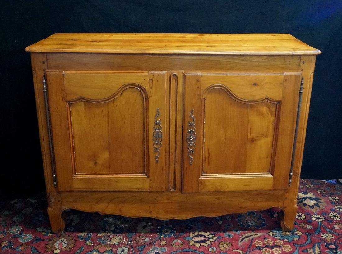 18TH / 19TH C. COUNTRY FRENCH FRUITWOOD CABINET