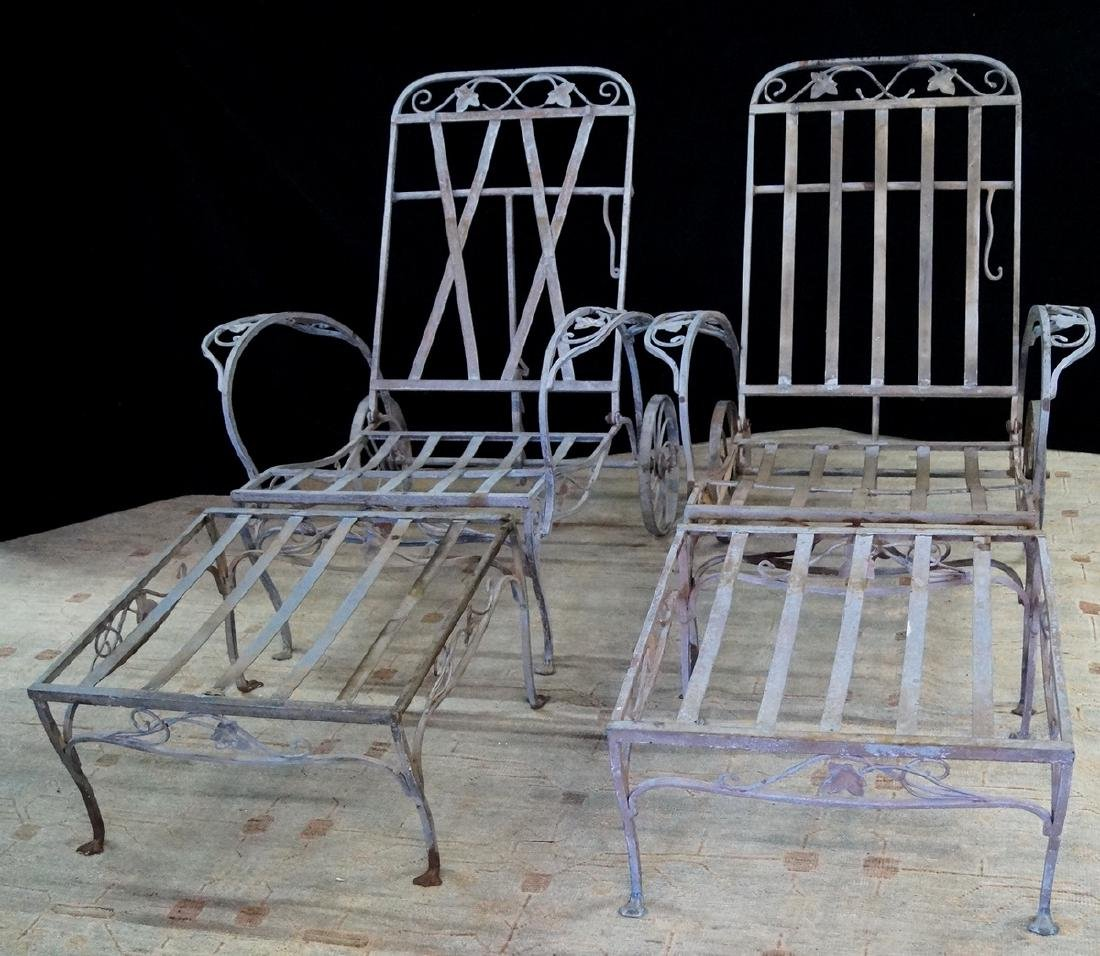 PR. SGN. SALTERINI CHAIRS & OTTOMANS: CHAIRS