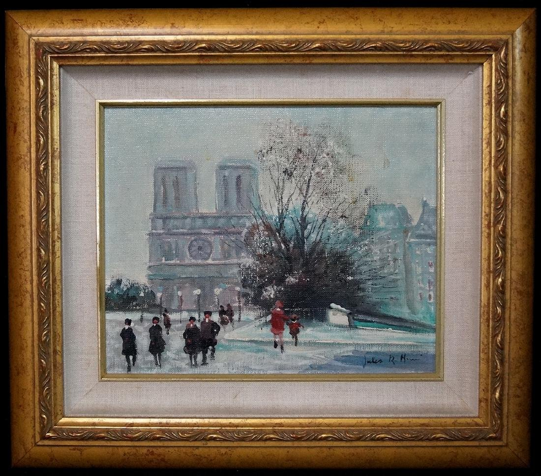 JULES RENE HERVE OIL ON CANVAS