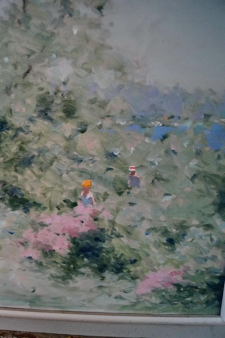 ANDRE GISSON SGN. IMPRESSIONIST STYLE LANDSCAPE WITH - 3