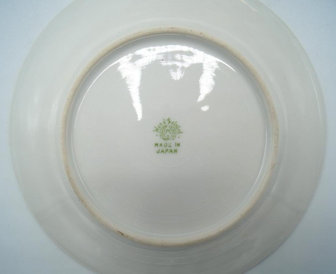 7 PC. NORITAKE HAND PAINTED DESSERT SET - 2