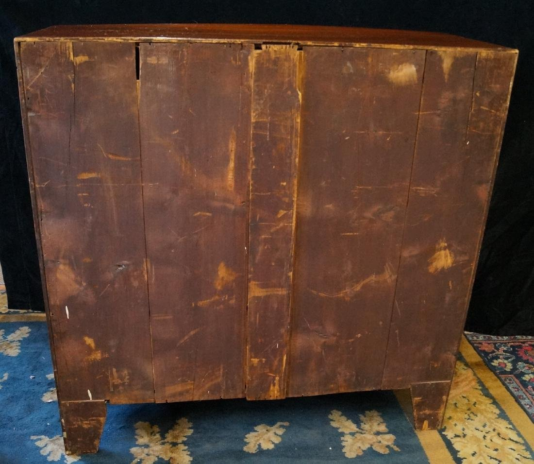 GEORGE III INLAID MAHOGANY CHEST OF DRAWERS - 10
