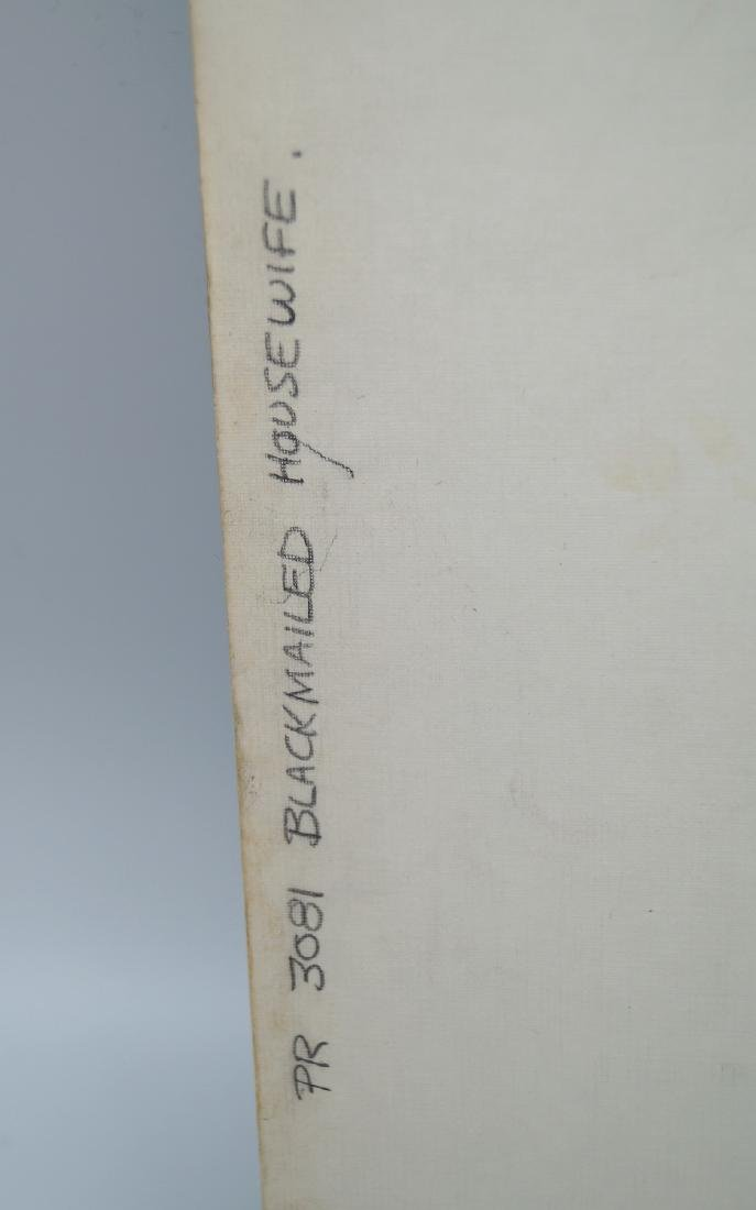 "GREENLEAF COVER CLASSIC ILLUSTRATION ON BOARD ""BLACK - 3"