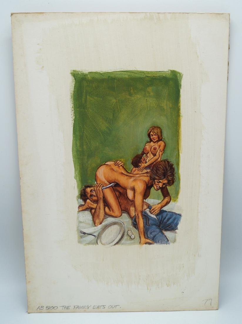 """GREENLEAF COVER CLASSIC ILLUSTRATION ON BOARD """"THE"""