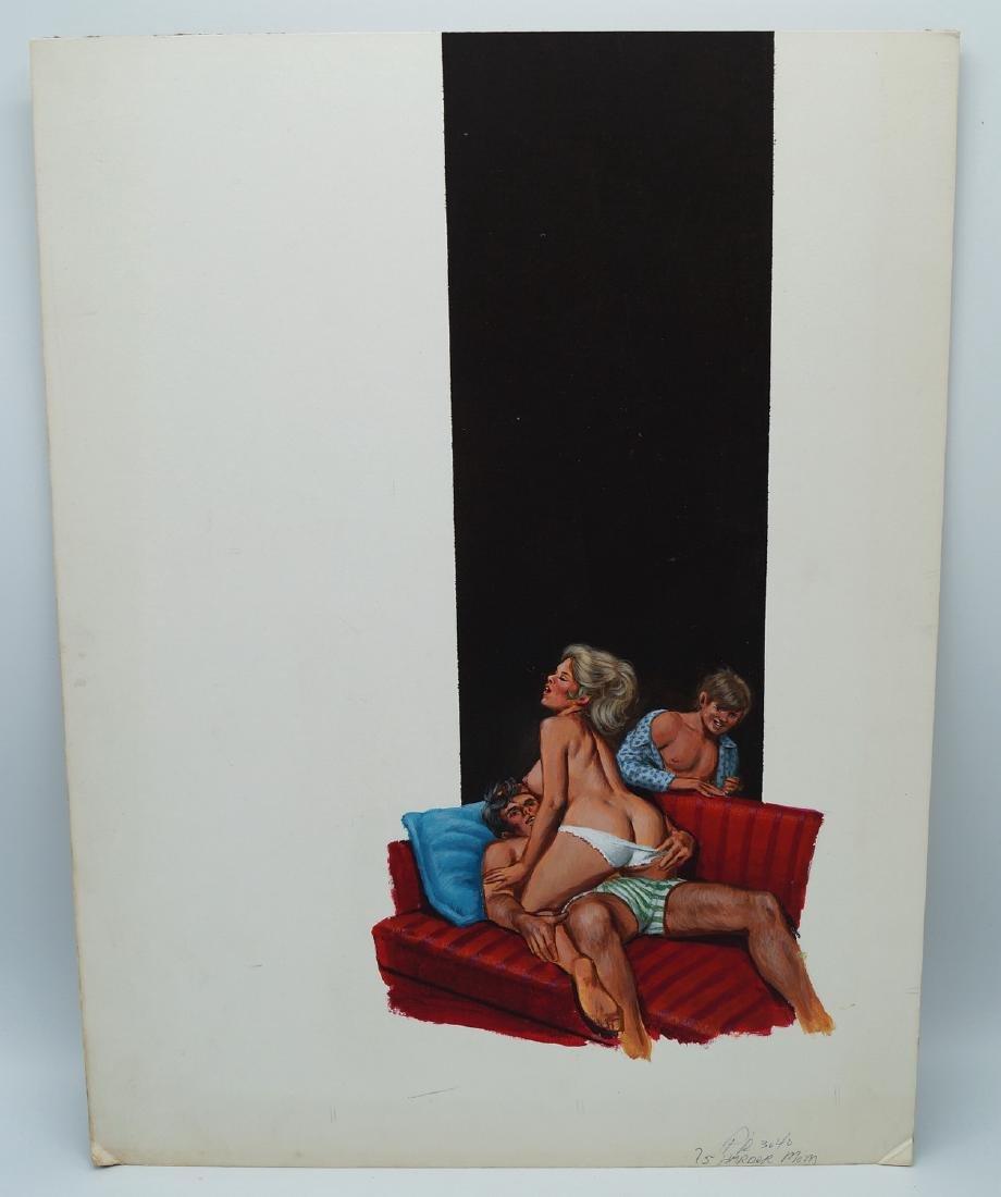 GREENLEAF COVER CLASSIC ILLUSTRATION ON BOARD