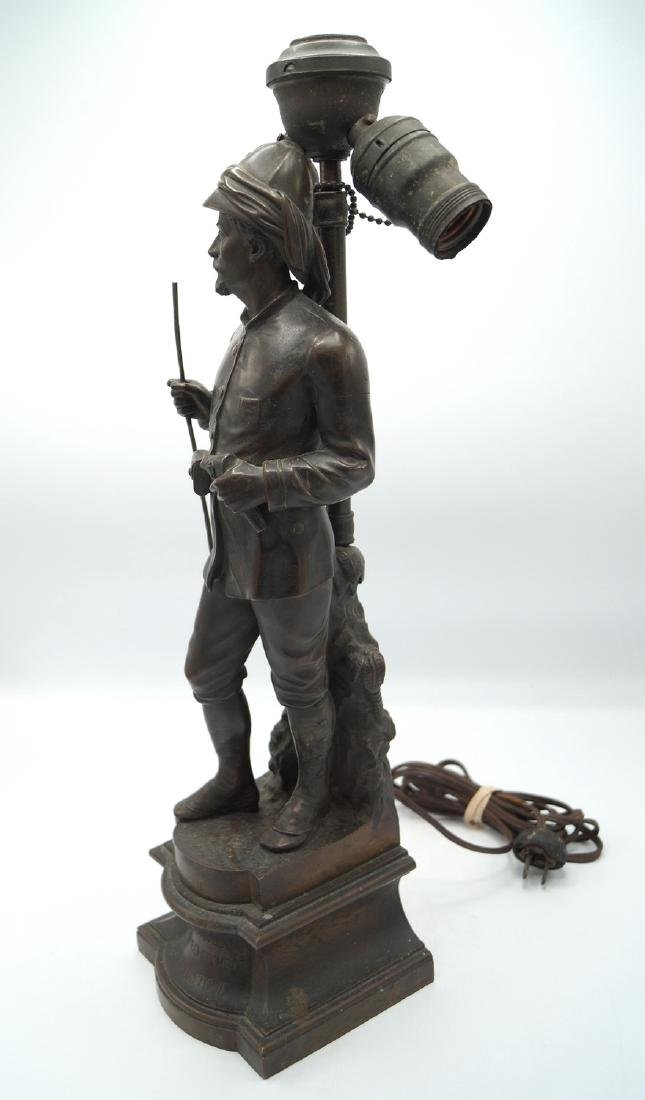 BRONZE FIGURE OF DR. LIVINGSTON - 3