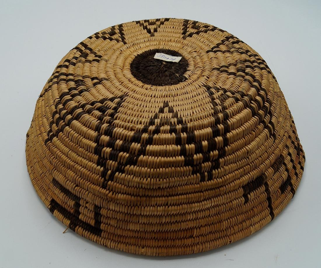 2 NATIVE AMERICAN BASKETS - 8