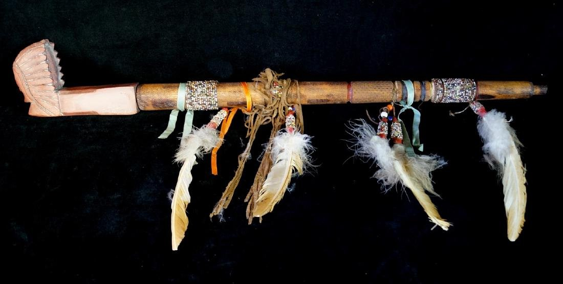 AMERICAN INDIAN PEACE PIPE
