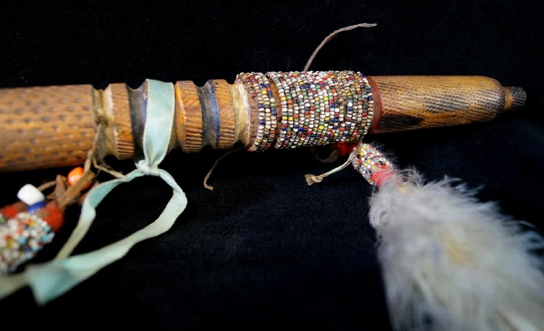 AMERICAN INDIAN PEACE PIPE - 4