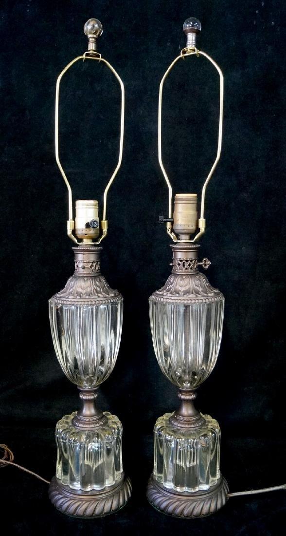PR. CRYSTAL & METAL LAMPS