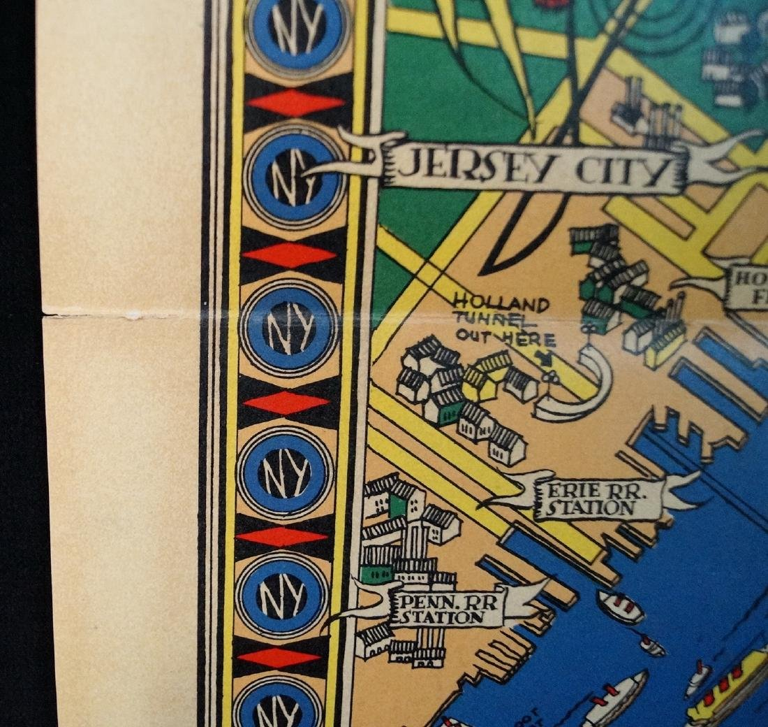 THE GREAT MAP OF NEW YORK 1939 WORLD'S FAIR  RUSSELL - 8
