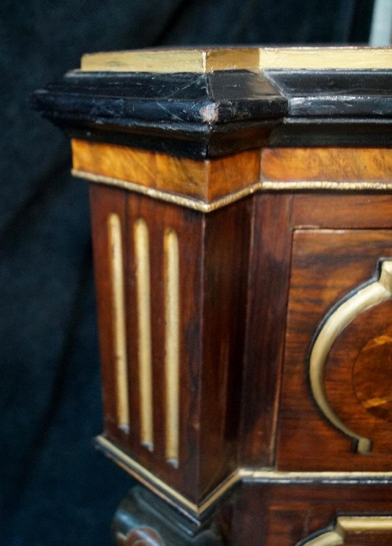 19TH CENT. FRENCH VICTORIAN INLAID ABATTANT - 4