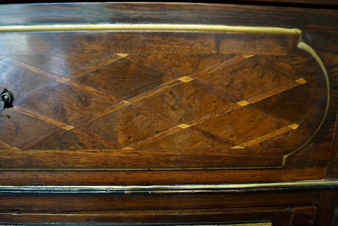 19TH CENT. FRENCH VICTORIAN INLAID ABATTANT - 7