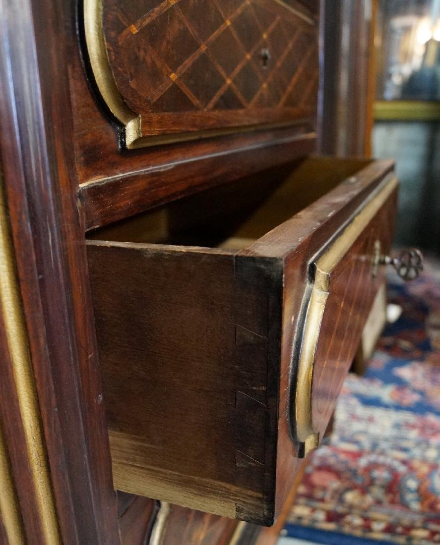 19TH CENT. FRENCH VICTORIAN INLAID ABATTANT - 8