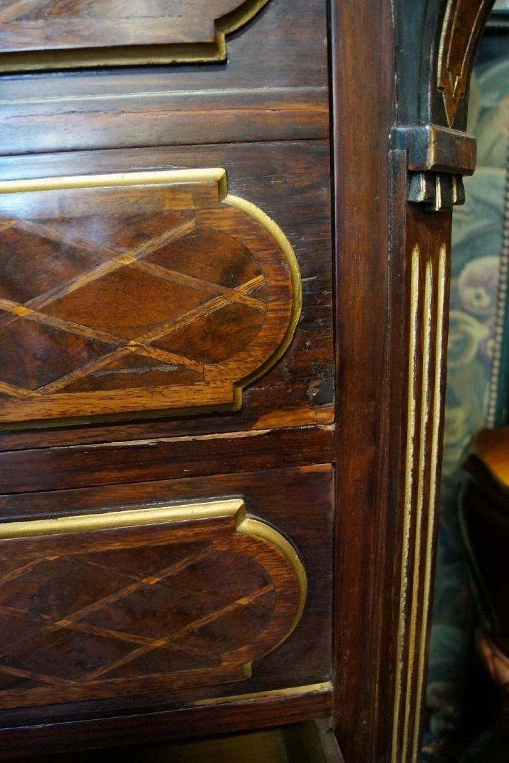 19TH CENT. FRENCH VICTORIAN INLAID ABATTANT - 9